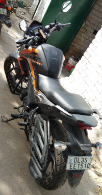 Black And Orange Honda CB Hornet 160R