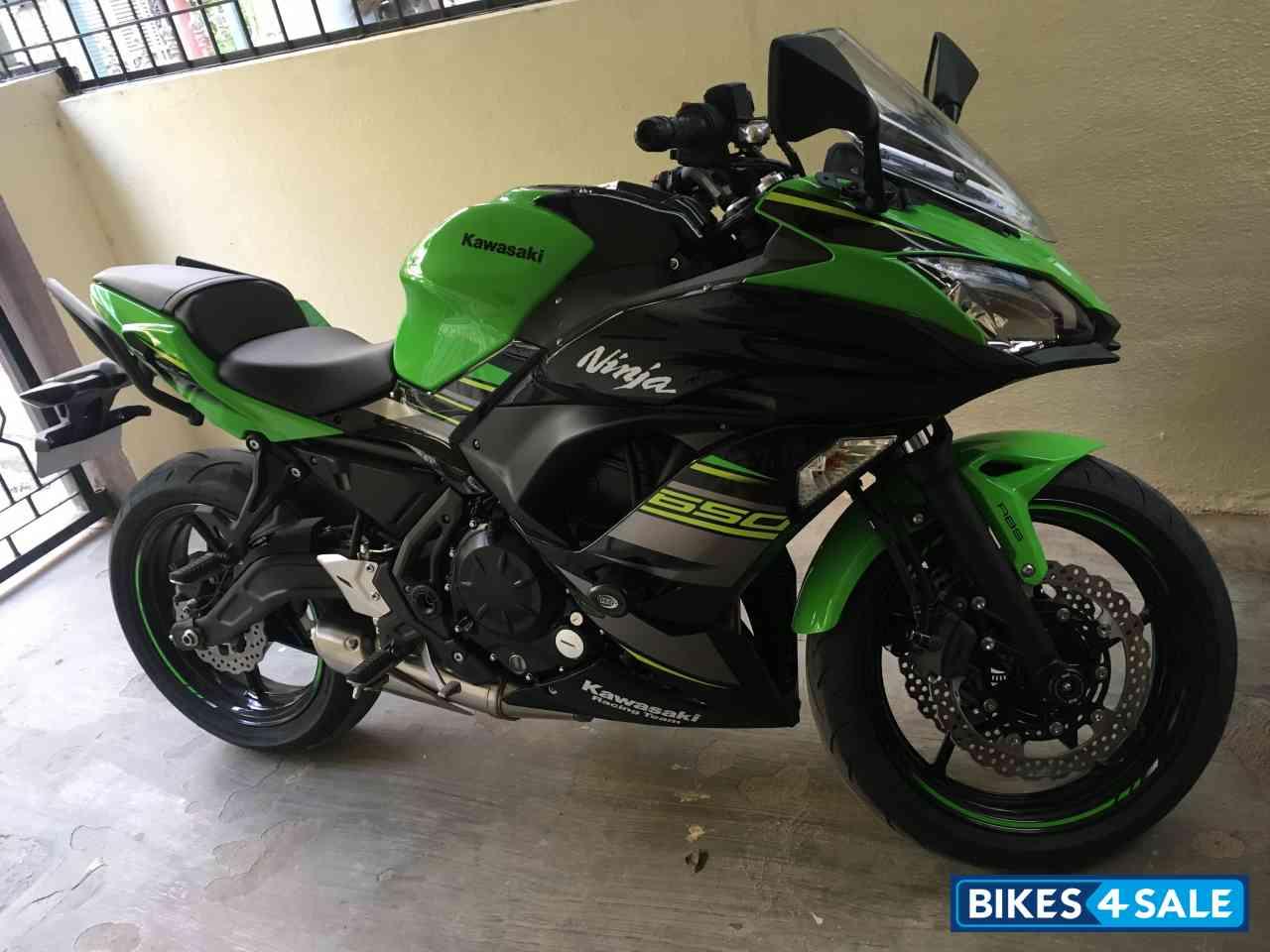 Used 2018 Model Kawasaki Ninja 650r For Sale In Bangalore Id 217172