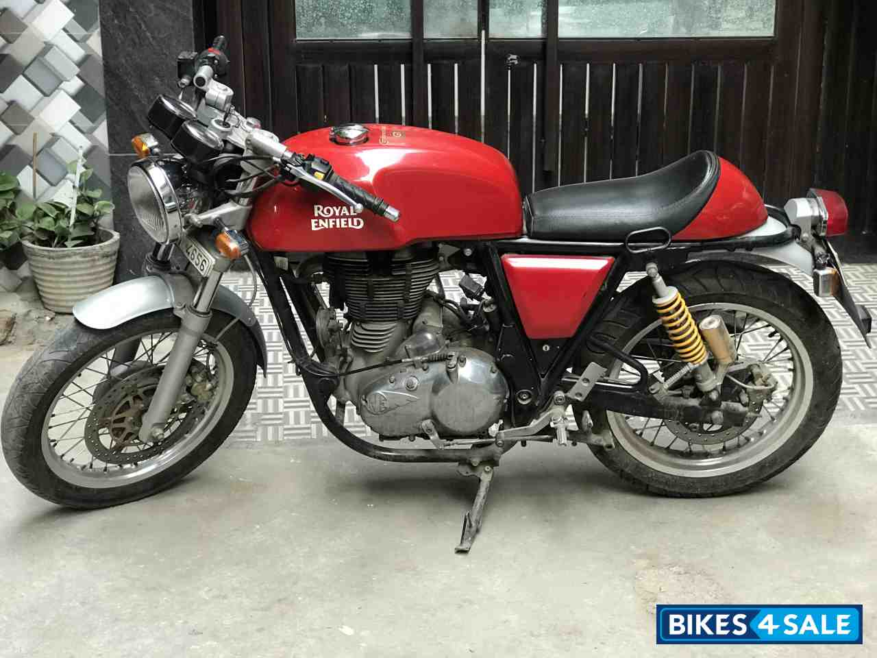 Used 2014 Model Royal Enfield Continental Gt 535 For Sale In Delhi