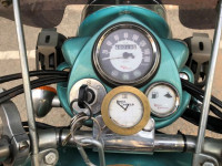 Green Royal Enfield Classic 500