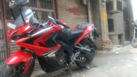 Red Bajaj Pulsar RS 200 ABS