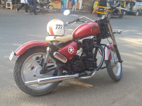 Metalick Red Sports Royal Enfield Thunderbird 350