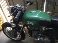 Royal Enfield Classic 350 Redditch Green 2017 Model