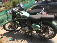 Mint Green Royal Enfield Classic 350