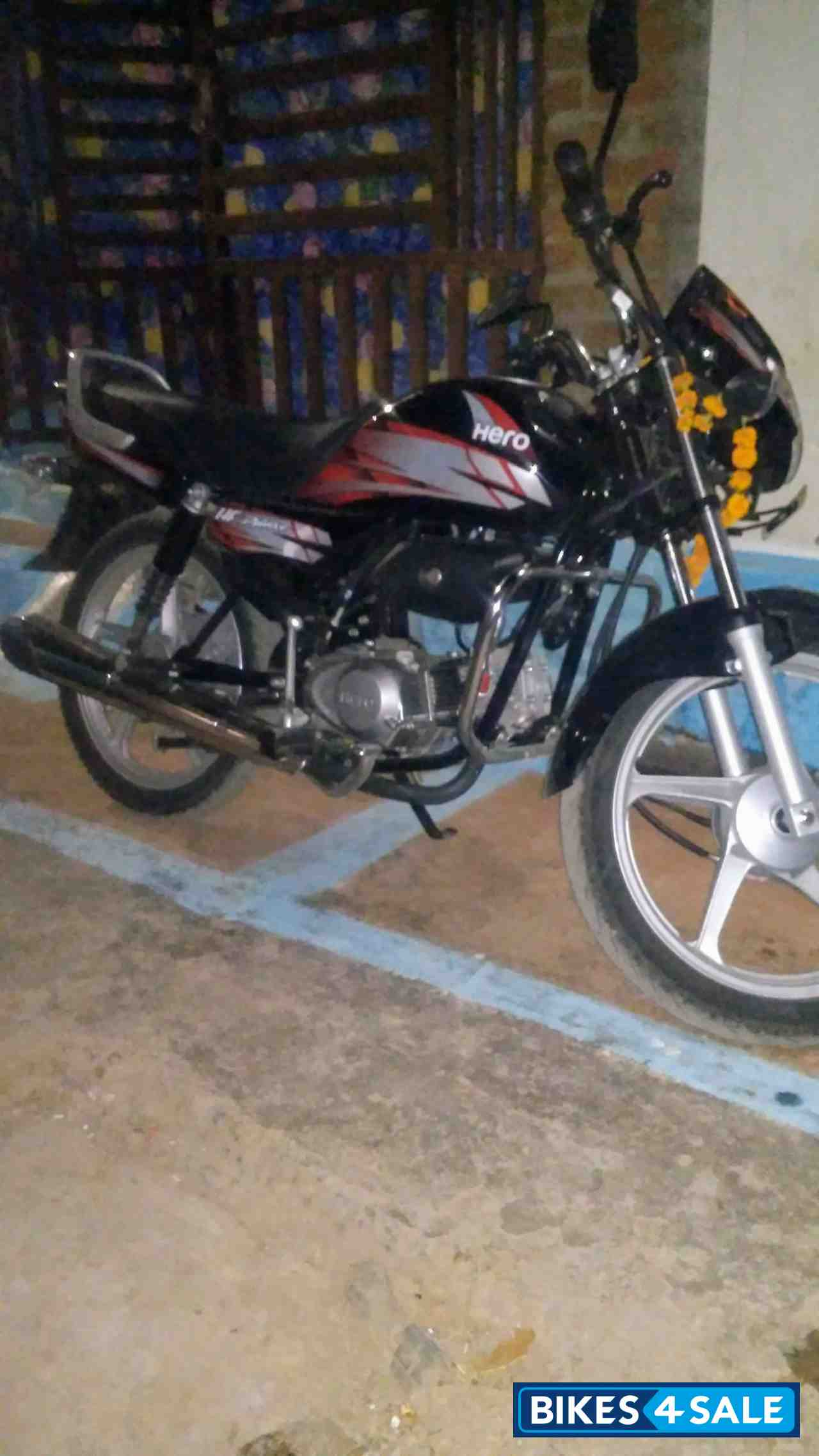 Used 2018 Model Hero Hf Deluxe I3s For Sale In Gwalior Id 225229 Red Black Colour Bikes4sale