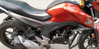 Orange Metallic Honda CB Hornet 160R