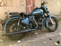 Royal Enfield Classic Signals Airborne Blue 2019 Model