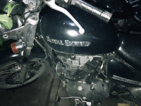 Matte Black Royal Enfield Thunderbird