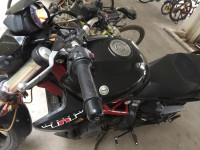 Black And Red Benelli TNT 300