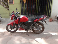 Matt Red TVS Apache RTR 160