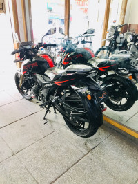 Black TVS Apache RTR 200 4V ABS Race Edition 2.0