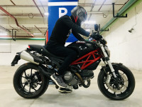 Black With Red Trellis Frame Ducati Monster 796