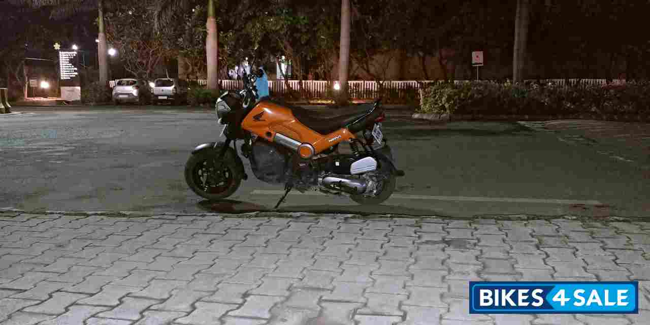 Orange Honda Navi