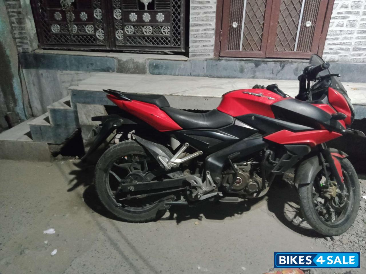 Red Bajaj Pulsar AS 150