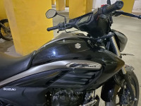 Black With Silver Suzuki Intruder 150 FI