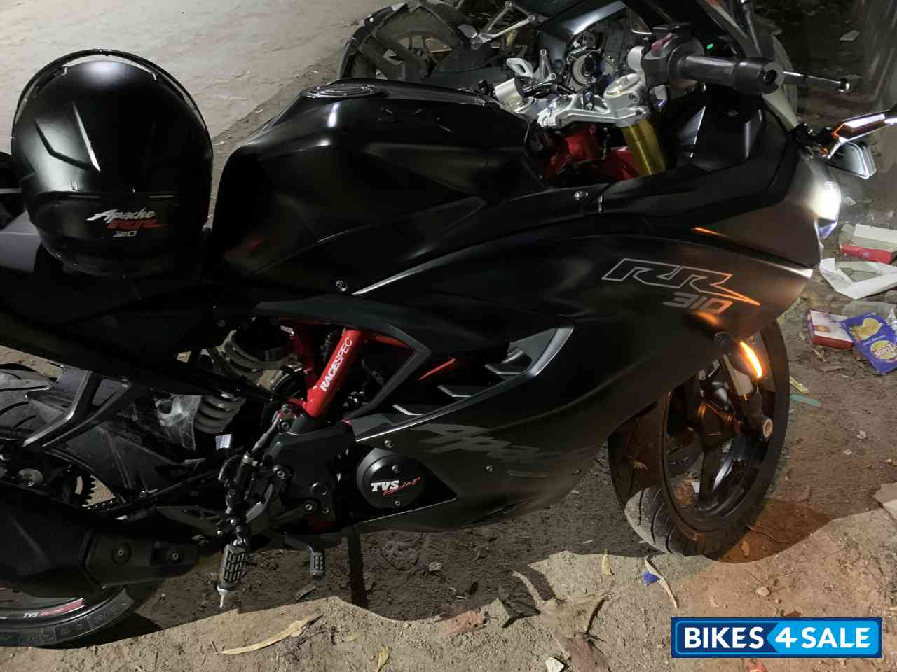 TVS Apache RTR 310 (Naked RR 310) Imagined by Yogi Sejwal