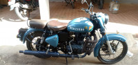 Royal Enfield Classic Signals Airborne Blue 2018 Model