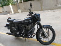 Royal Enfield Classic Stealth Black  Model