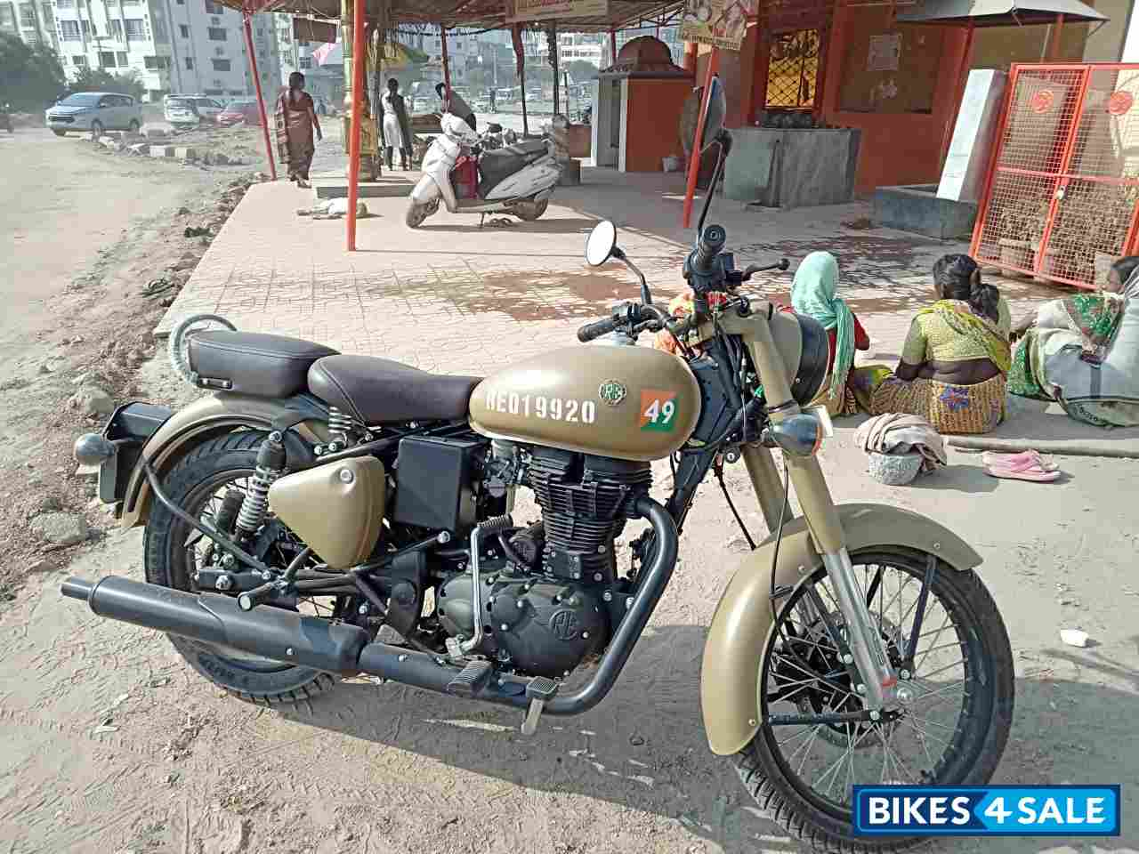 Used 2018 Model Royal Enfield Classic Signals Stormrider Sand For Sale In Hyderabad Id 254218 Bikes4sale