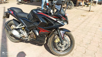 Black And Red Bajaj Pulsar RS 200 ABS