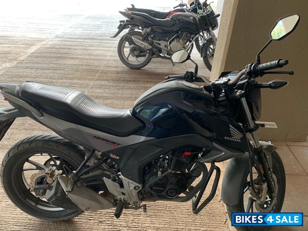 Used 2016 Model Honda Cb Hornet 160r For Sale In Pune Id 258414 P S Blue Colour Bikes4sale