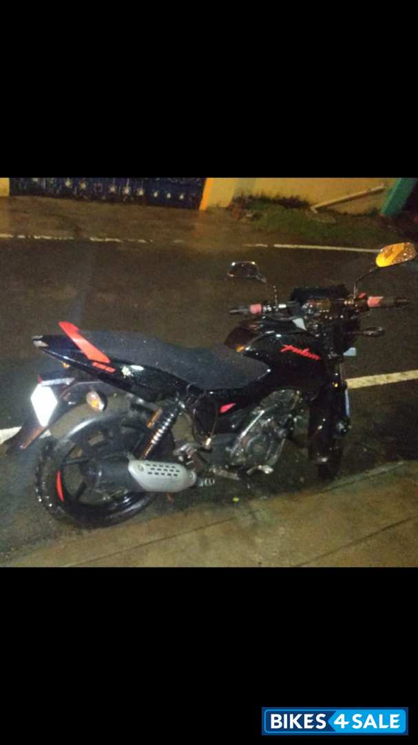 Red And Black Bajaj Pulsar 150 Neon