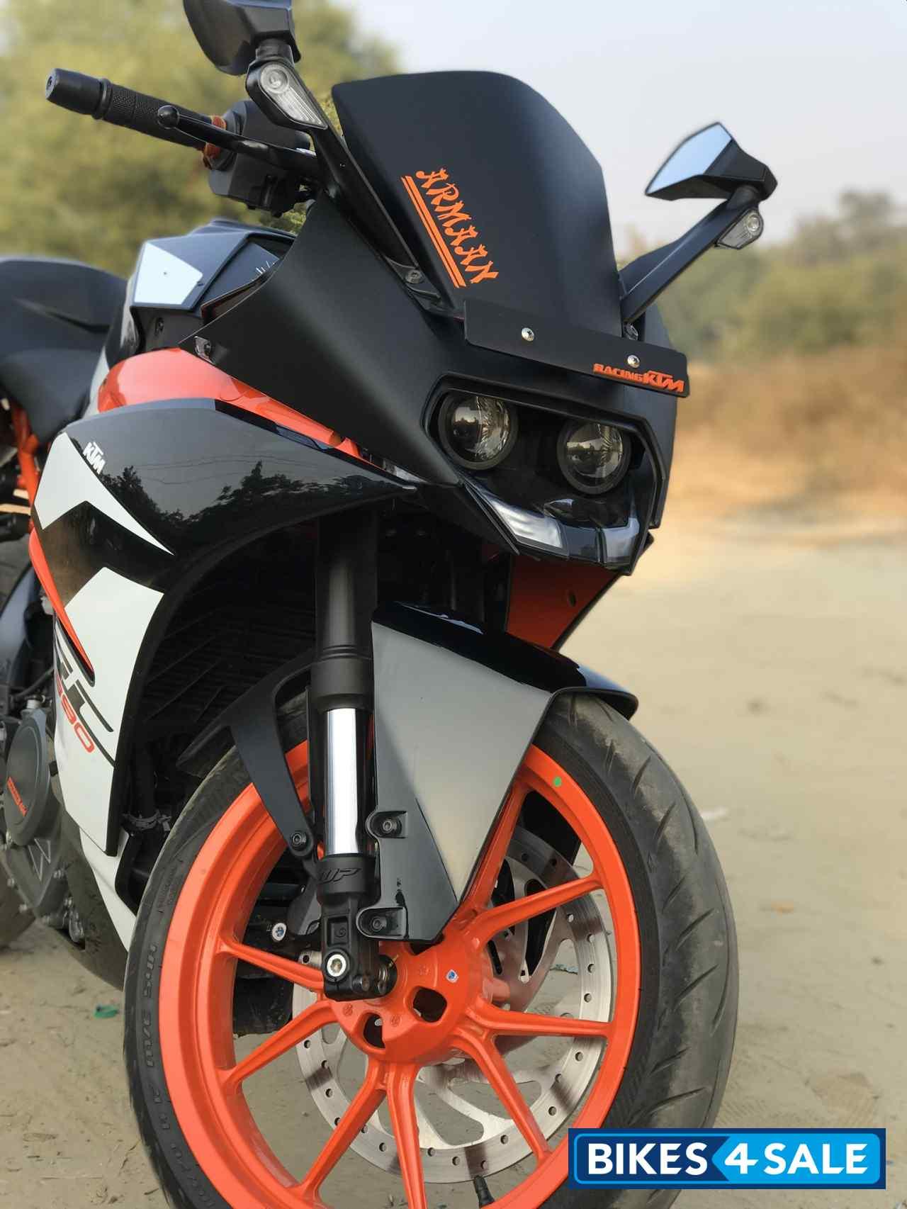 Used 2017 Model Ktm Rc 390 For Sale In Meerut Id 261334 Bikes4sale
