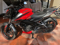 Red Bajaj Pulsar 200 NS