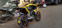 Yellow Bajaj Pulsar RS 200 ABS