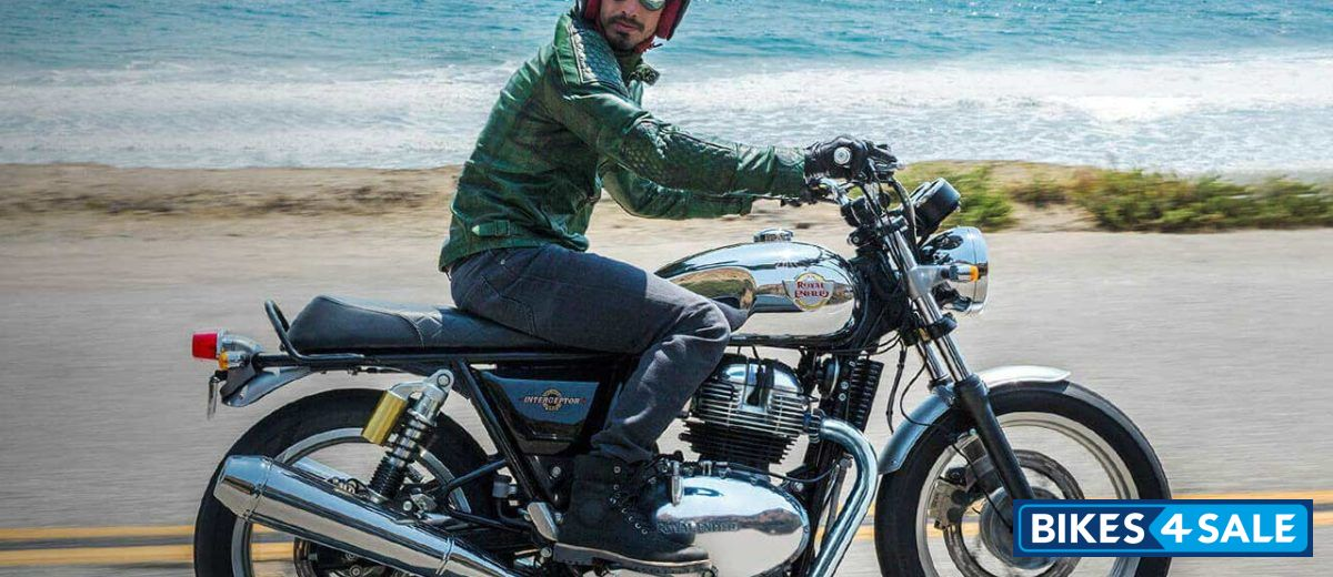 Glitter And Chrome Royal Enfield Interceptor 650 Twin