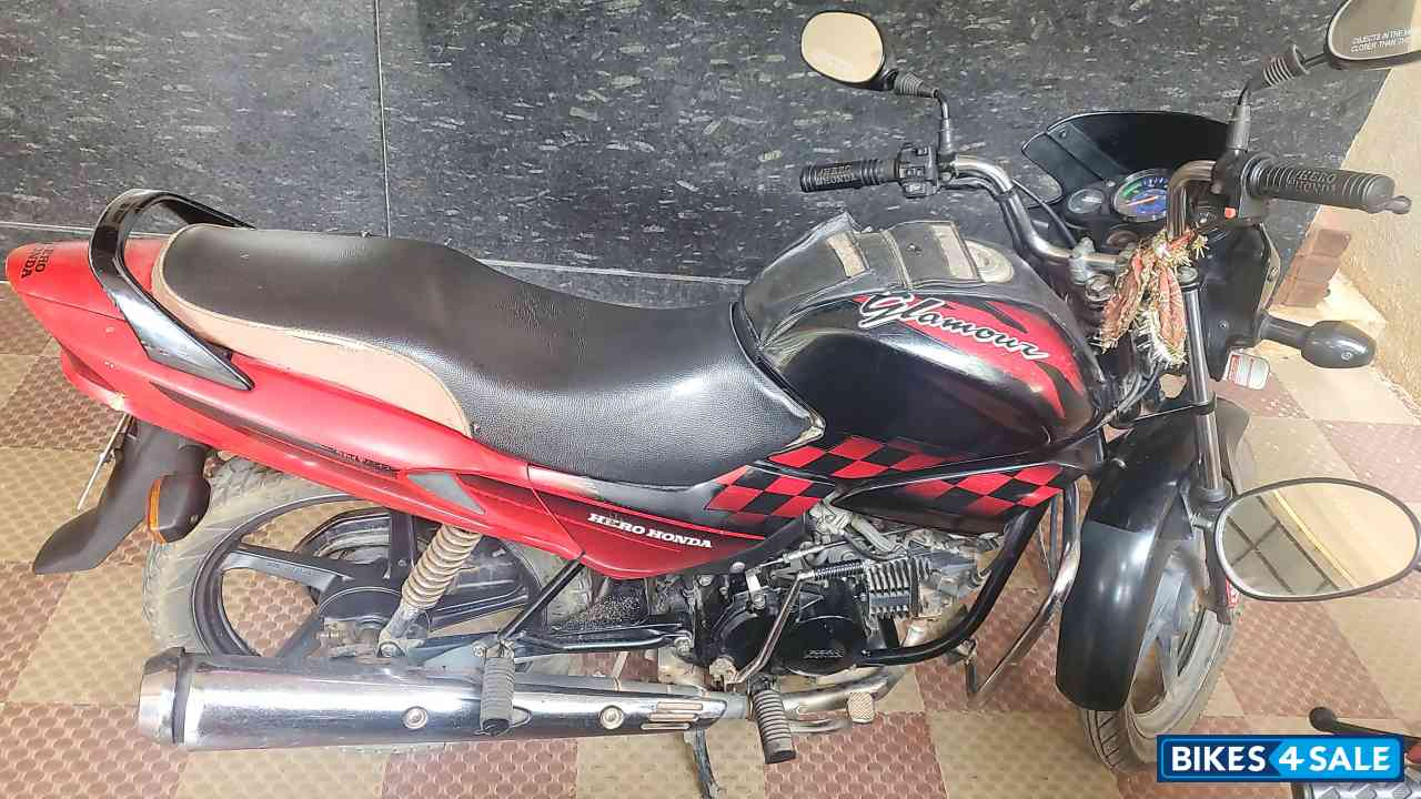 Red Hero Glamour 125