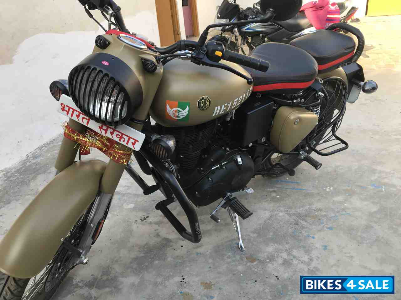 Used 2019 Model Royal Enfield Classic Signals Stormrider Sand For Sale In Lucknow Id 269870 Bikes4sale