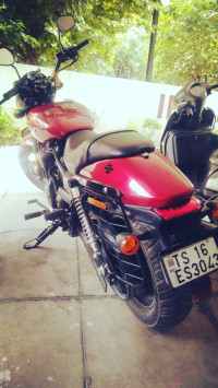 Wicked Red Harley Davidson Street 750