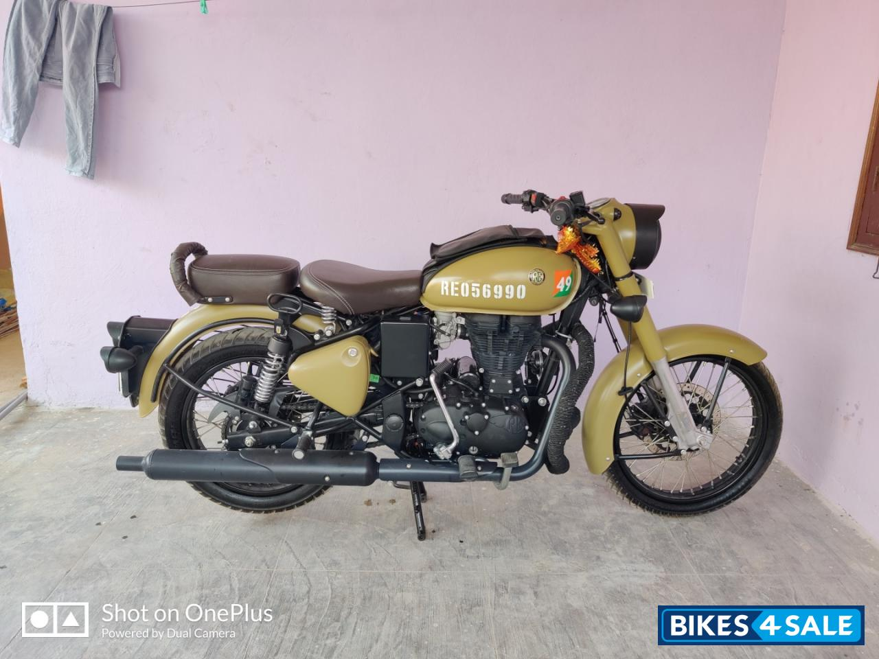 Used 2019 Model Royal Enfield Classic Signals Stormrider Sand For Sale In Hyderabad Id 270921 Army Sand Colour Colour Bikes4sale