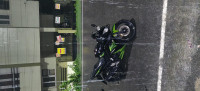 Black And Green Yamaha YZF R15 S