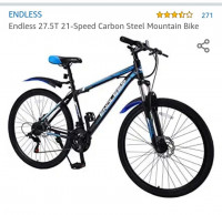 Endless 27.5T 21-speed carbon Steel mountain bike 2019 Model