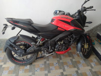 Red Bajaj Pulsar NS 160 BS6