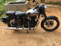 Mercury Silver Royal Enfield Classic 350