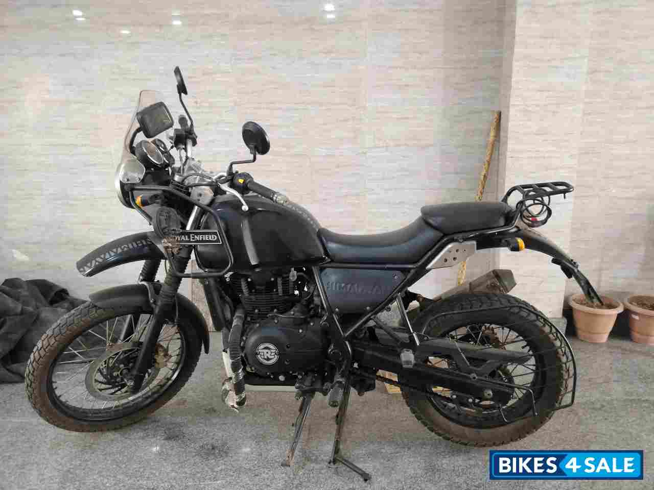 Black Royal Enfield Himalayan
