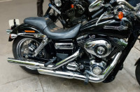 Black And Crome Harley Davidson Dyna FXDC Super Glide Custom