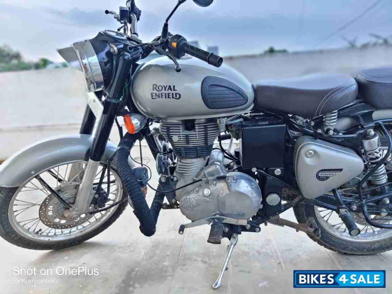 Used 2018 Model Royal Enfield Classic Gunmetal Grey For Sale In Vijayawada Id 286099 Bikes4sale