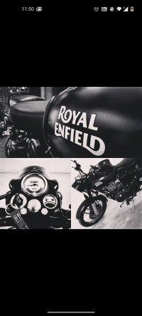 Royal Enfield Classic Stealth Black 2019 Model