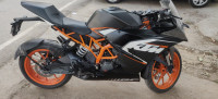 Black And Orange KTM RC 200