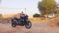 Matte Black Bajaj Dominar 400 ABS BS6
