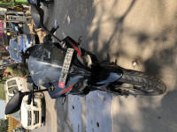 Black Bajaj Pulsar RS 200 ABS