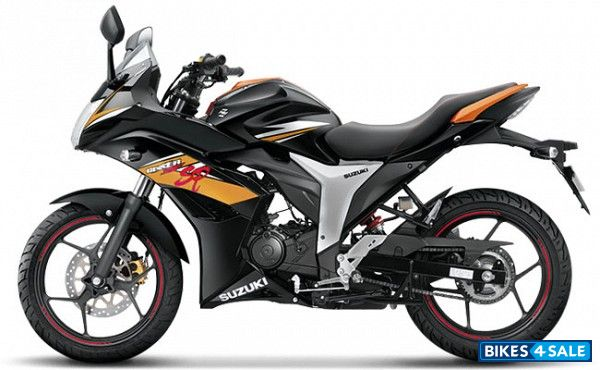Black Suzuki Gixxer SF SP