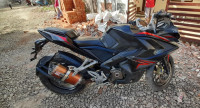 Black Red Bajaj Pulsar RS 200 ABS