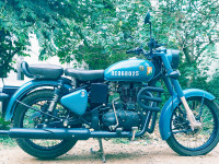 Airborne Blue Royal Enfield Classic Signals Airborne Blue