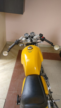 Yellow Royal Enfield Continental GT 535