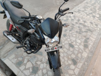Black Honda CB Twister